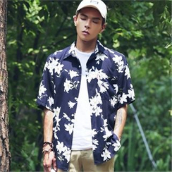 Superstar.i - Flower Patterned Shirt