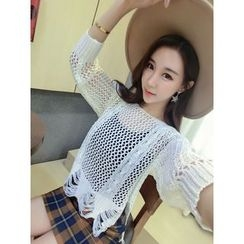 QZ Lady - Open Knit Sweater