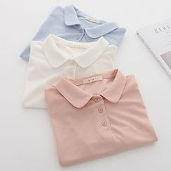 Meimei - Short Sleeve Polo Shirt