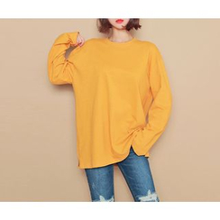 HOTPING - Loose-Fit Cotton Top