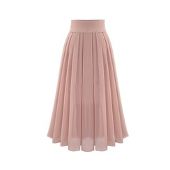 Cherry Dress - Maxi Chiffon Skirt