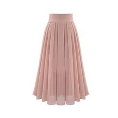 Cherry Dress - Maxi Chiffon Skirt