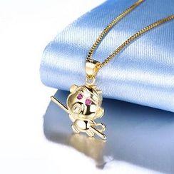 Zundiao - 925銀猴子吊墜