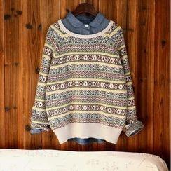 tete - Printed Sweater