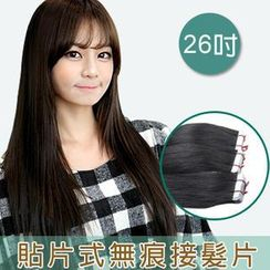 Clair Beauty - 26 Inch Clip-In Hair Extension - Straight (20 Pieces 1 Set)