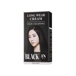 Missha 谜尚 - Long Wear Cream Hair Coloring (#3N Black)