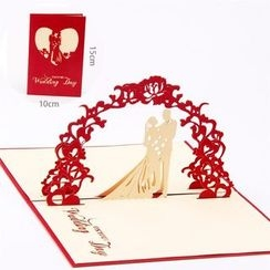 ByHeart - Happy Wedding 3D Greeting Card