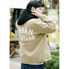 JOGUNSHOP - Snap-Button Lettering Jacket
