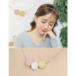 soo n soo - Disc Pendant Necklace