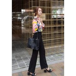 BBORAM - High-Waist Wide-Leg Pants