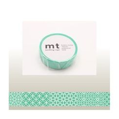 mt - mt Masking Tape : mt 1P Line Pattern (Green)