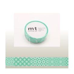 mt - mt Masking Tape : mt 1P Line Pattern (Green)