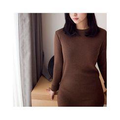 MASoeur - Round-Neck Knit Dress
