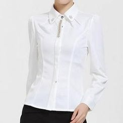 Caroe - Rhinestone Slim-Fit Shirt