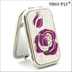 Yogi-Fly - Beauty Compact Mirror (XK005P) (Purple)