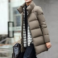 Bay Go Mall - Stand-collar Down Coat