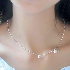 Sylvion - Fish Pendant Necklace