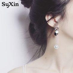 PERILLA - Non-Matching Drop Earrings