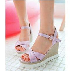 TULASI - Wedge Sandals