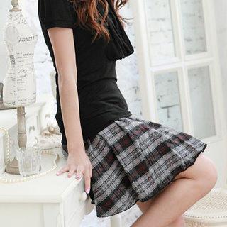 RingBear - Plaid Skirt