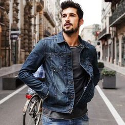 Simwood - Washed Denim Jacket