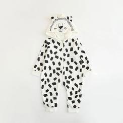 MOM Kiss - Baby Lion Hooded Bodysuit