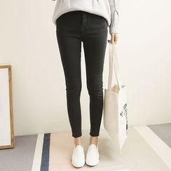 三木社 - 纯色窄身裤