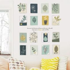 LESIGN - Leaf Wall Sticker