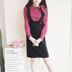 Cherris - A-line Jumper Skirt