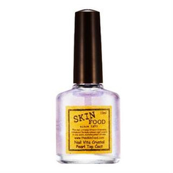 Skinfood - Nail Vita Crystal Pearl Top Coat 10ml