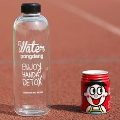 Yulu - Lettering Water Bottle