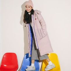 Ashlee - Hooded Long Padded Coat