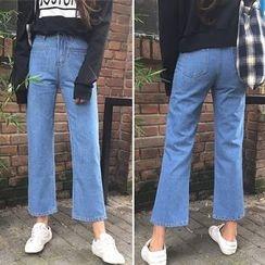 Glen Glam - 靴型牛仔裤