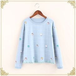 Fairyland - Cloud Print heck Pullover