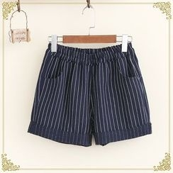 Fairyland - Pinstriped Shorts