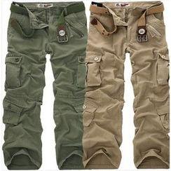 Aozora - Straight-Leg Cargo Pants
