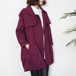 Sens Collection - Double-Breasted Trench Coat