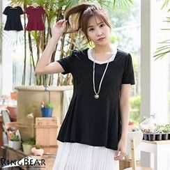 RingBear - Short Sleeve Plain Top
