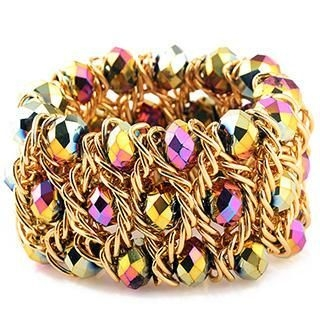 Linglady - Beaded Bangle