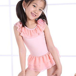 Zeta Swimwear - Kids Ruffle Swimdress