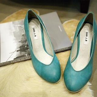 NANING9 - Round-Toe Pumps