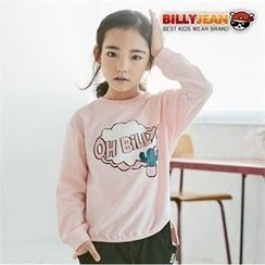 BILLY JEAN - Kids Dip-Back Printed Top