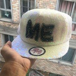 Hats 'n' Tales - Sequined Baseball Cap