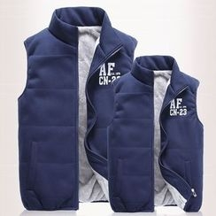 Bingham - Couple Matching Fleece Lined Vest
