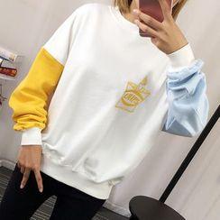 Tulander - Color Block Sweatshirt