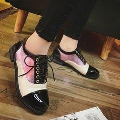 Wello - 拼色牛津鞋