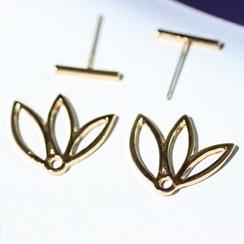 HEDGY - Hollow Lotus Earrings