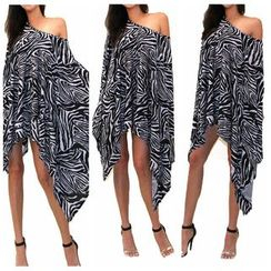 Hotprint - Zebra Print Cover-Up