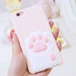Sea Girl - Cat Paw Fleece iPhone 5 / 5S / 6 Plus / 6S Plus Case