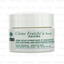 NUXE - Creme Fraiche De Beaute Enrichie 24HR Soothing And Moisturizing Rich Cream (Dry to Very Dry Sensitive Skin)